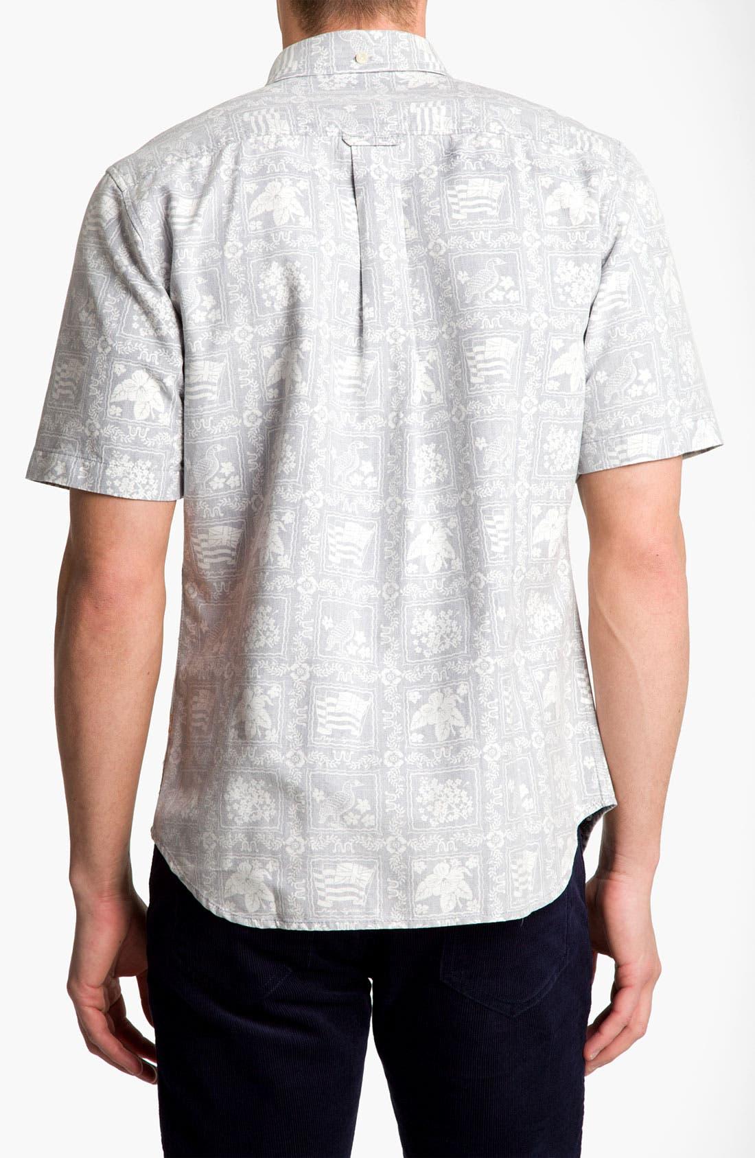 Alternate Image 2  - Reyn Spooner 'Noble Mon' Print Woven Shirt