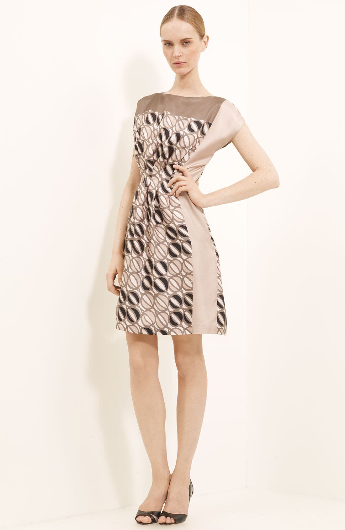 Alternate Image 1 Selected - Piazza Sempione Print Silk Dress