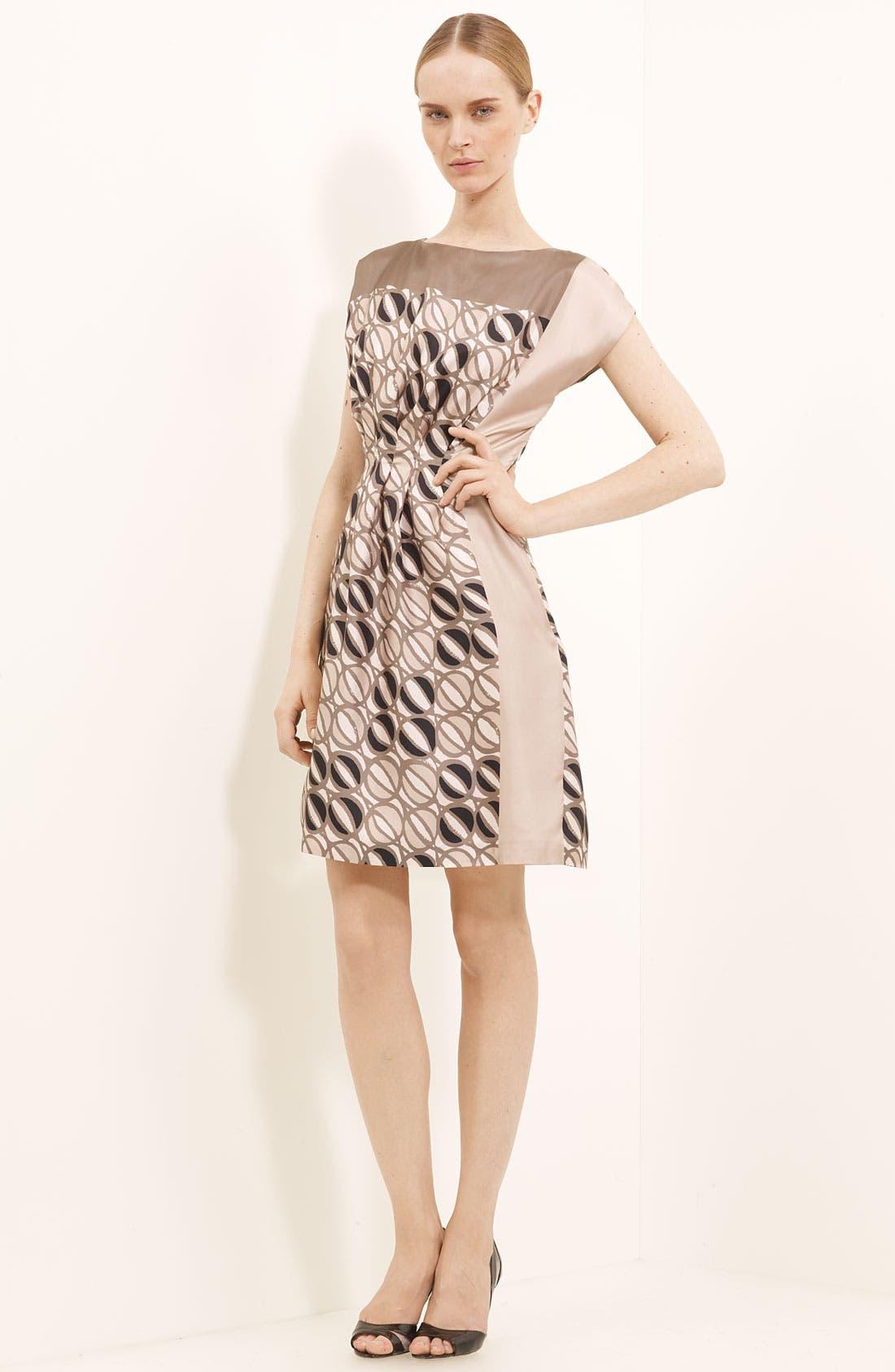 Main Image - Piazza Sempione Print Silk Dress