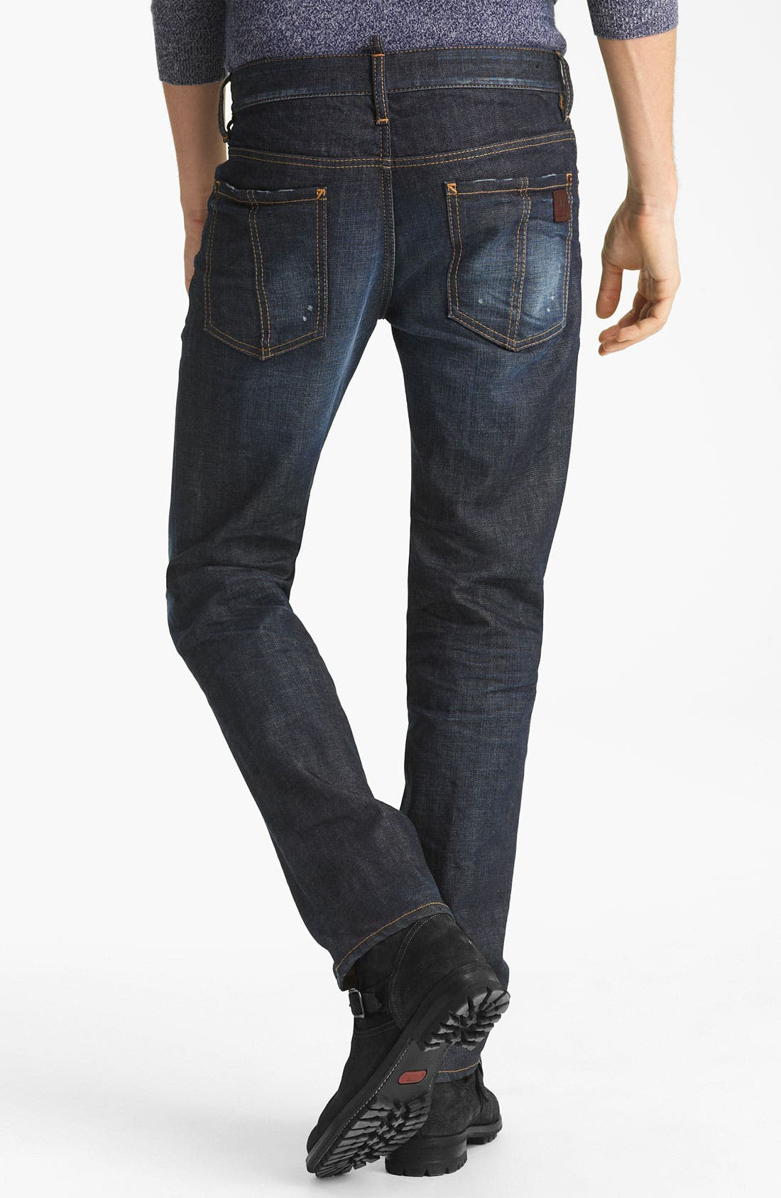 Alternate Image 1 Selected - Dsquared2 'Dean' Slim Fit Jeans (Everywhere)