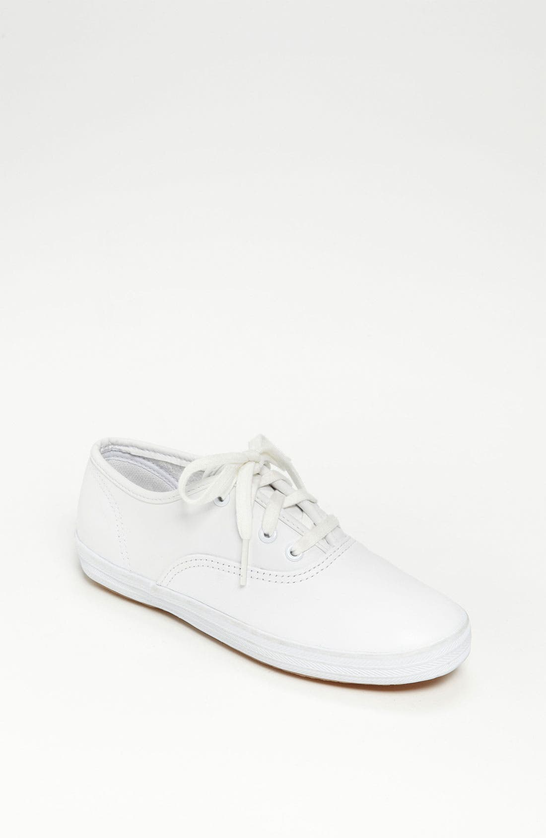 'Champion' Sneaker,                         Main,                         color, White Leather
