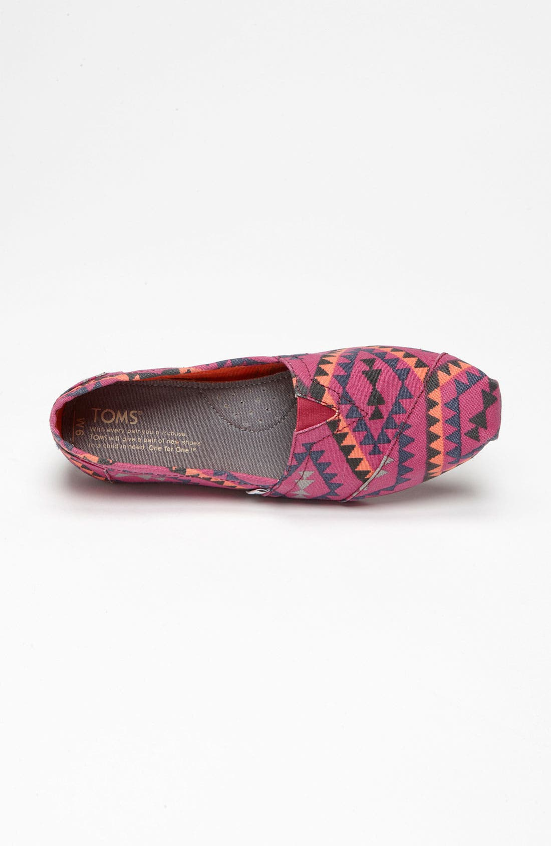 'Classic - Indo' Slip-On,                             Alternate thumbnail 3, color,                             Magenta