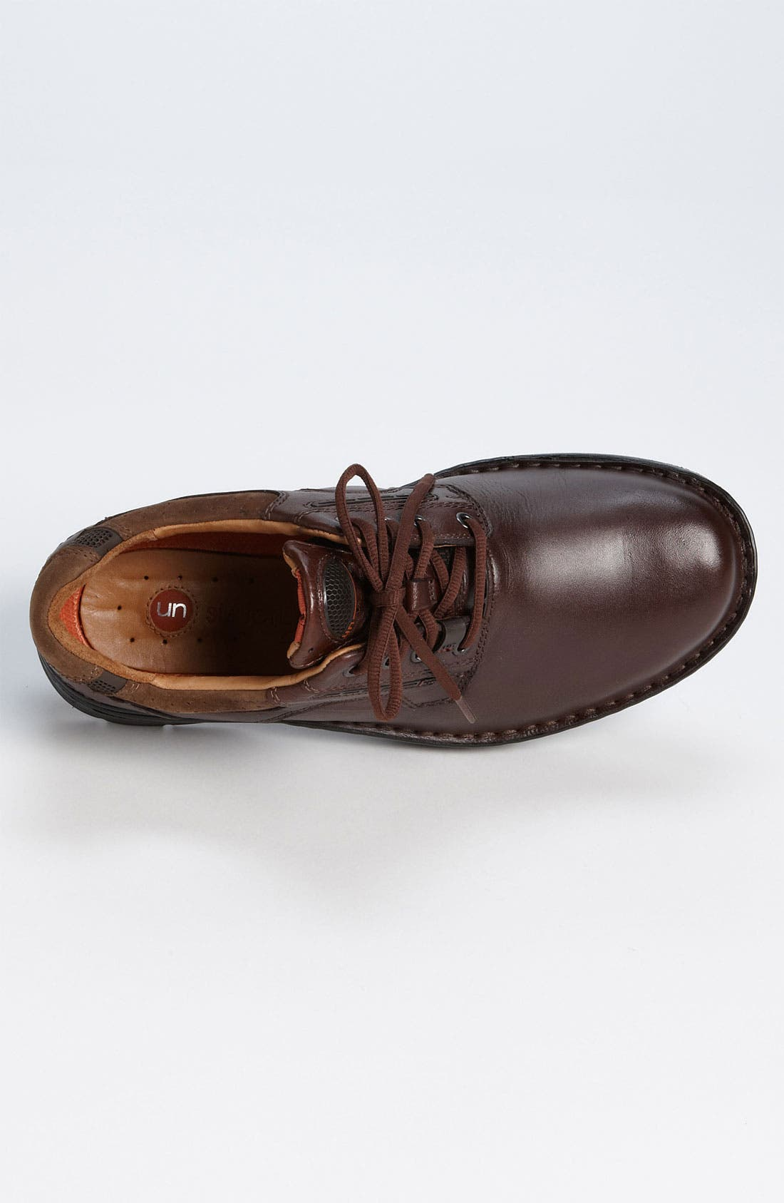 'Un Ravel' Oxford (Online Only),                             Alternate thumbnail 3, color,                             Brown Leather