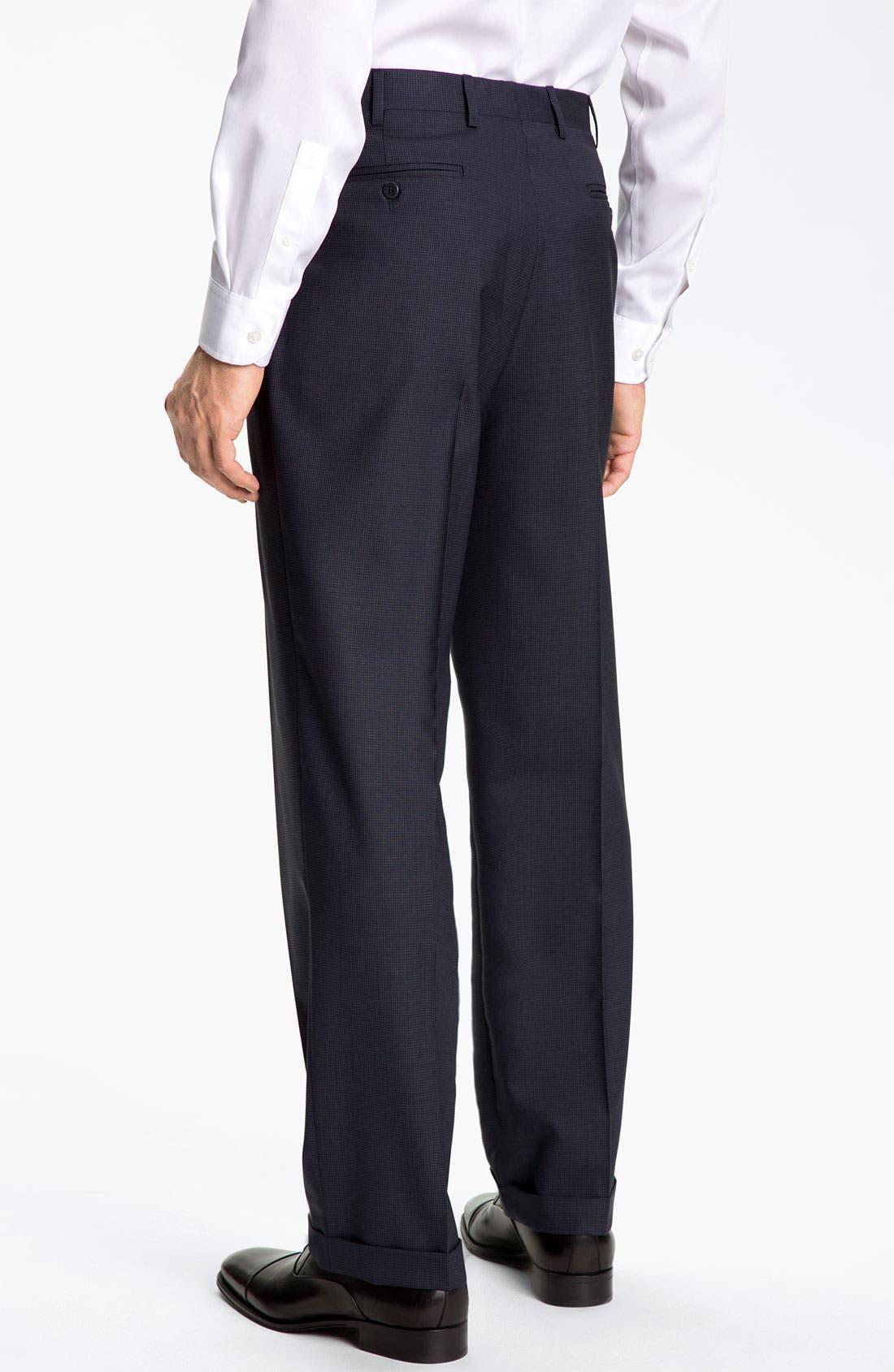 Alternate Image 2  - Zanella 'Bennett' Pleated Trousers