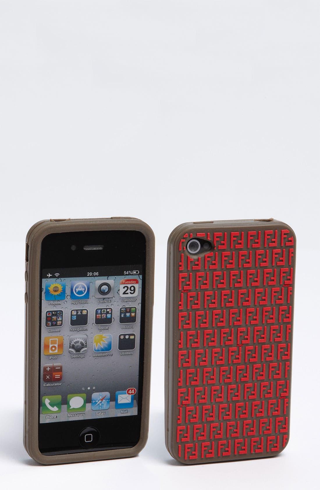 Alternate Image 1 Selected - Fendi iPhone 4 & 4S Case