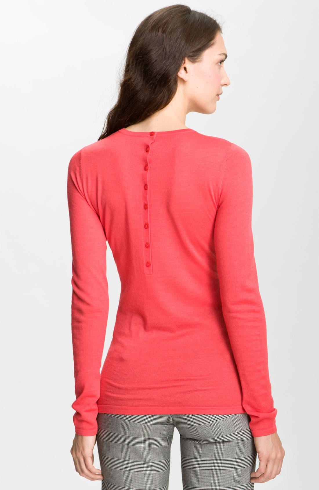 Alternate Image 2  - Valette Refined Wool Crewneck Sweater