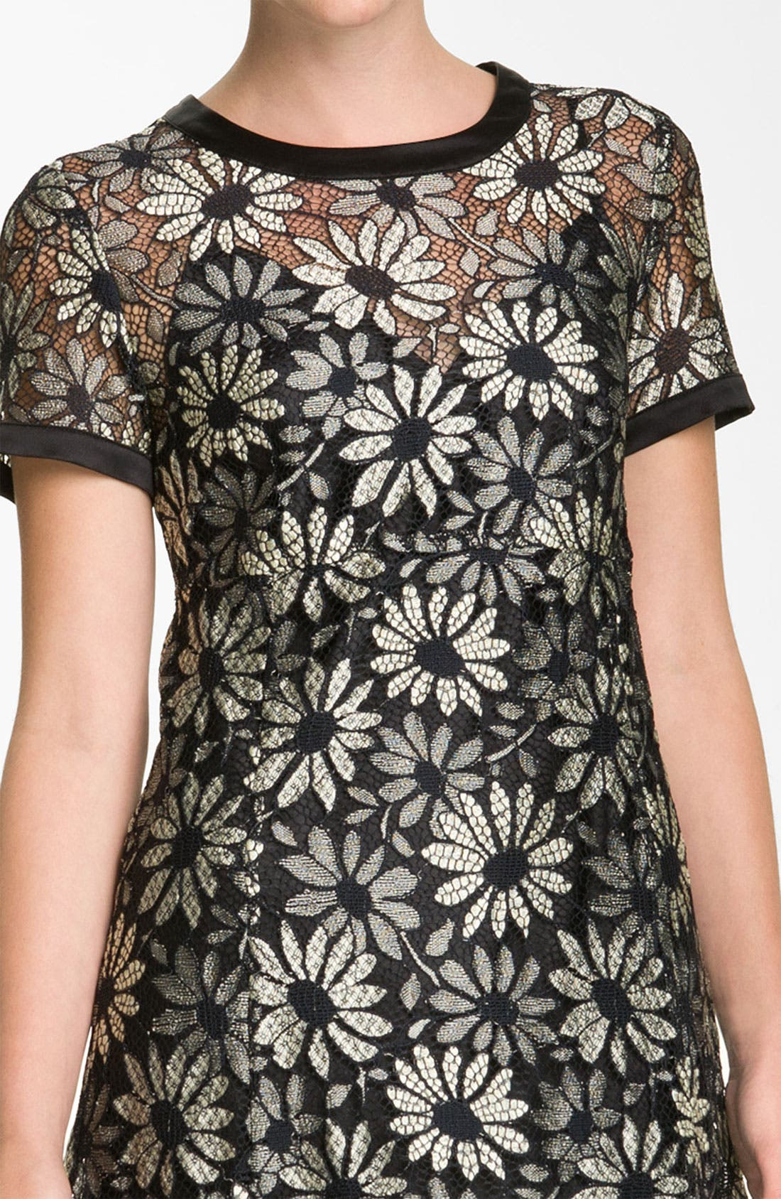 Alternate Image 3  - MARC BY MARC JACOBS 'Lily' Metallic Lace Dress