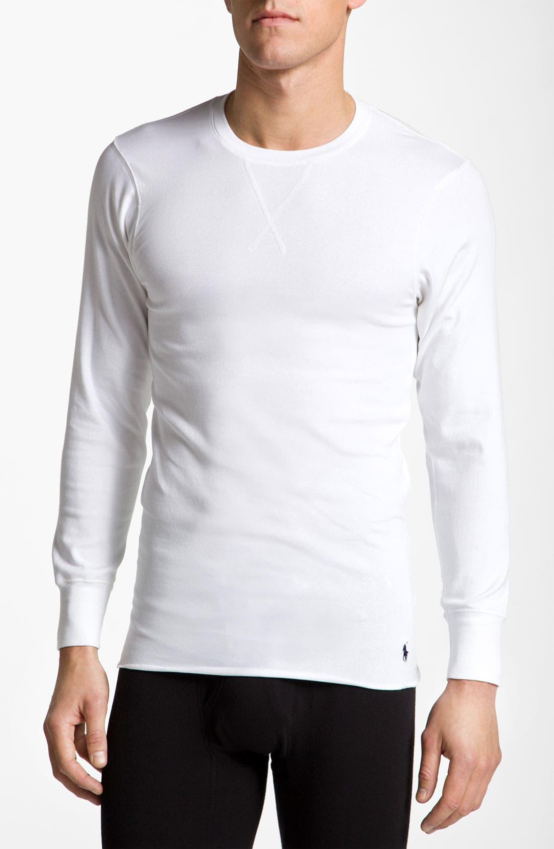 Alternate Image 1 Selected - Polo Ralph Lauren Thermal T-Shirt