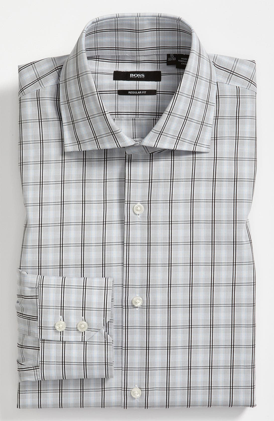 Alternate Image 1 Selected - BOSS Black Regular Fit Dress Shirt