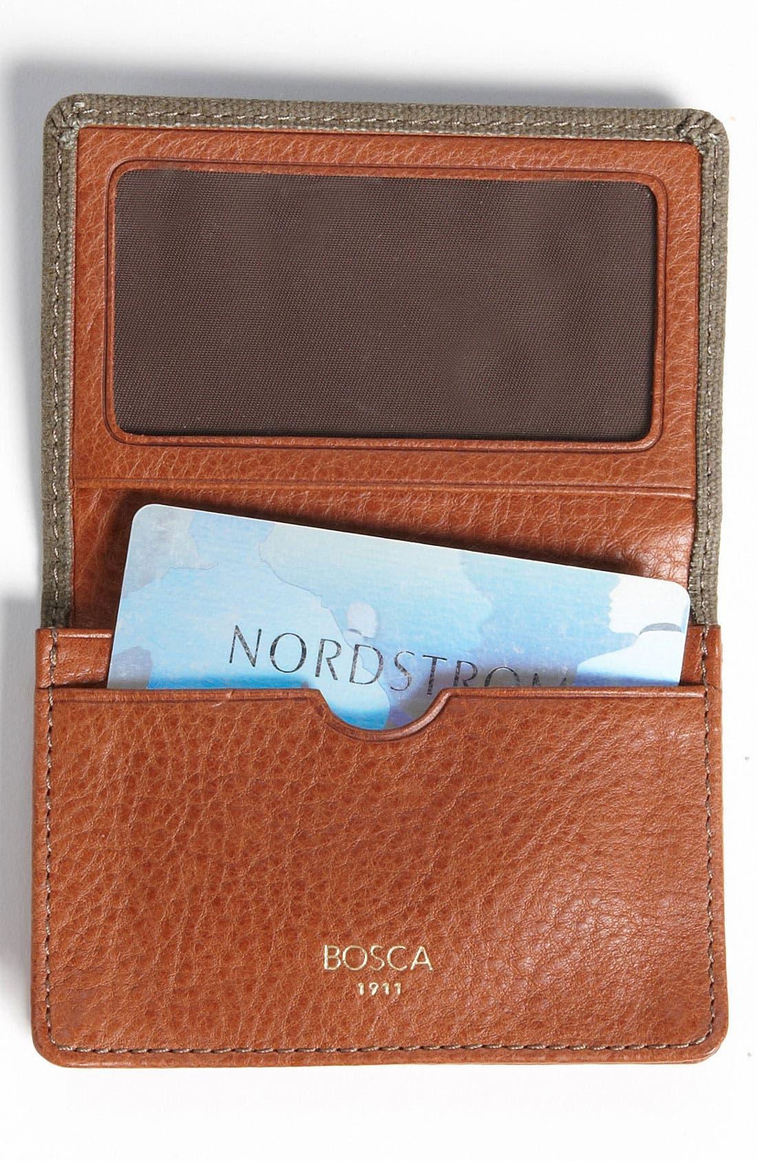 Alternate Image 2  - Bosca Gusseted Card Case