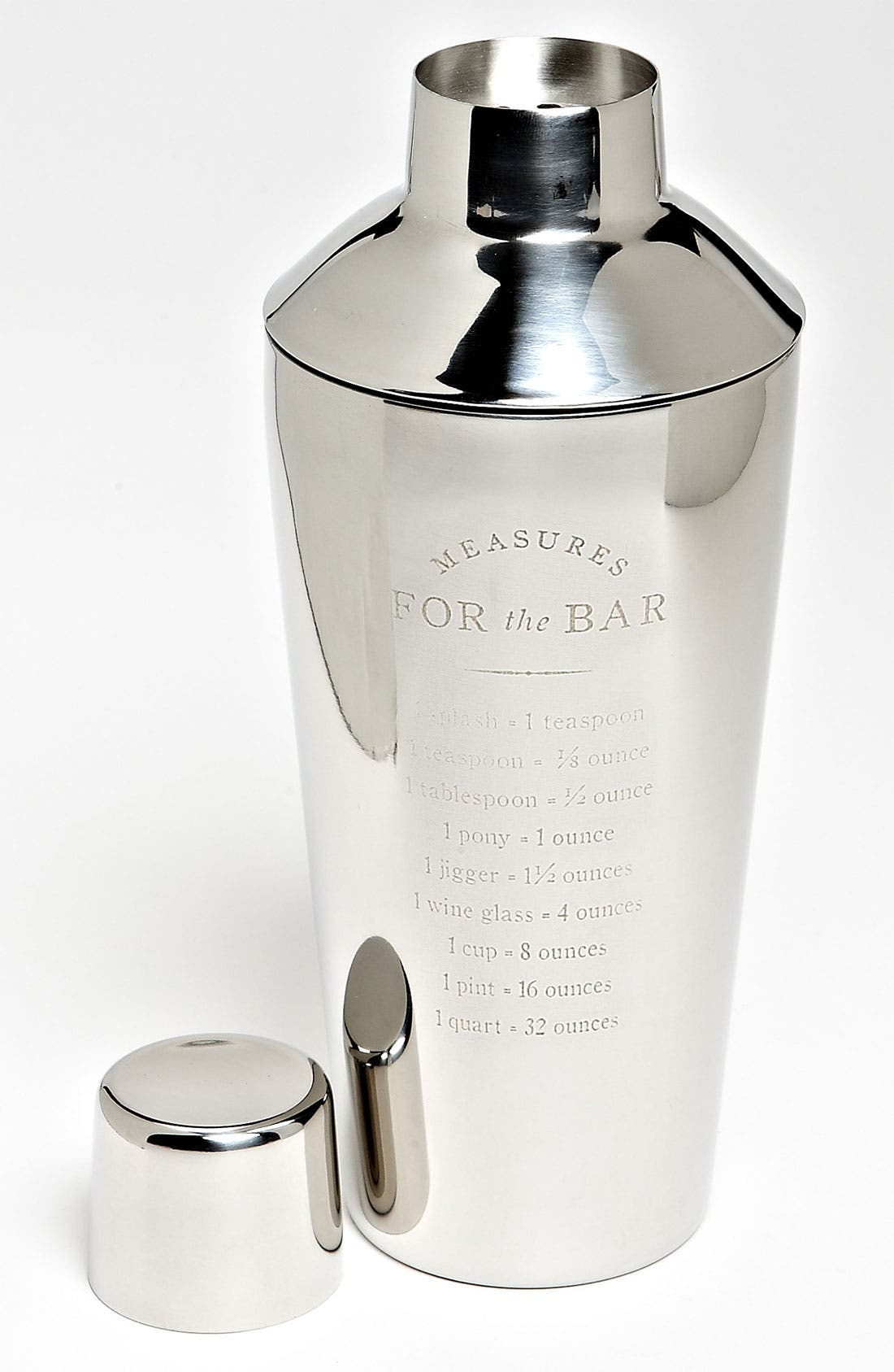 Main Image - 'Measurements for the Bar' Cocktail Shaker