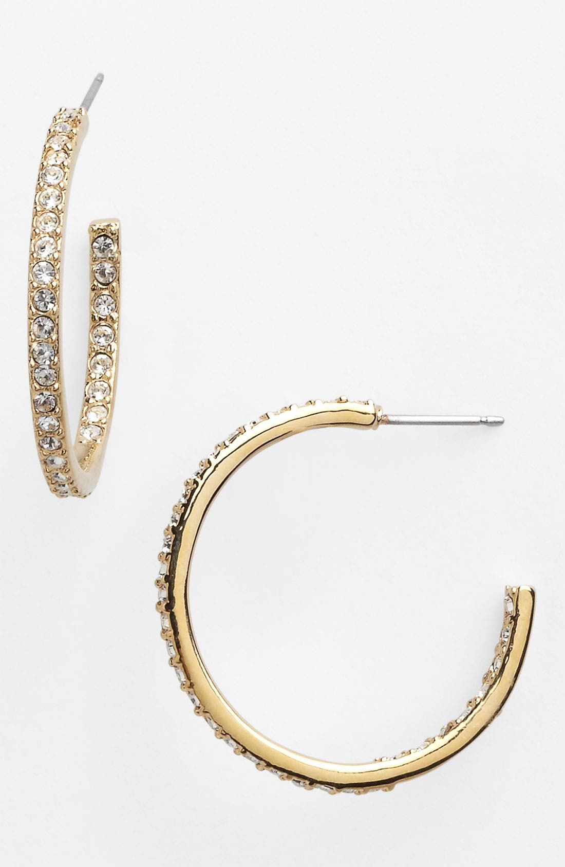 Alternate Image 1 Selected - Givenchy Small Inside Out Hoop Earrings