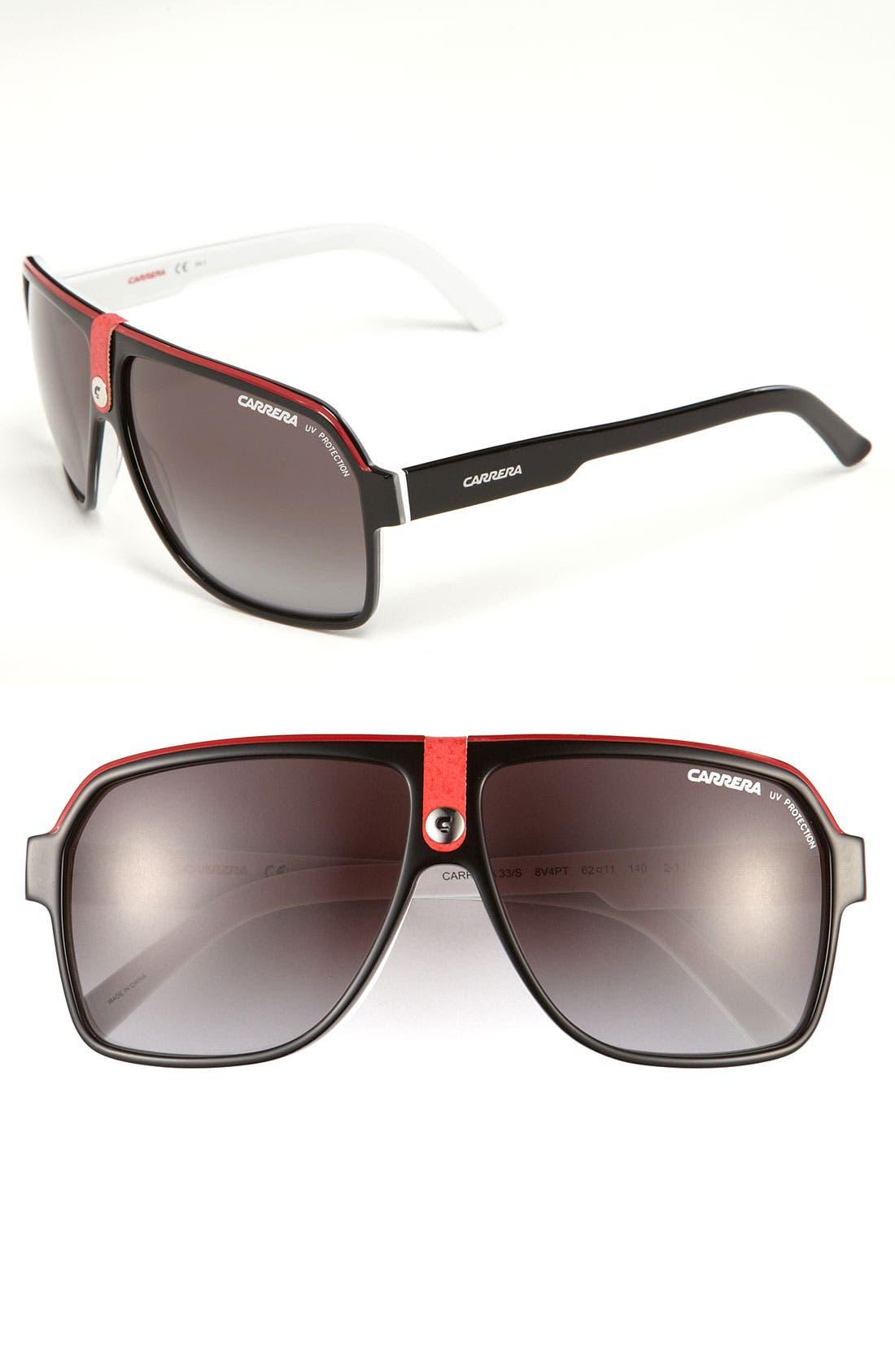 Carrera Eyewear 62mm Aviator Sunglasses Nordstrom