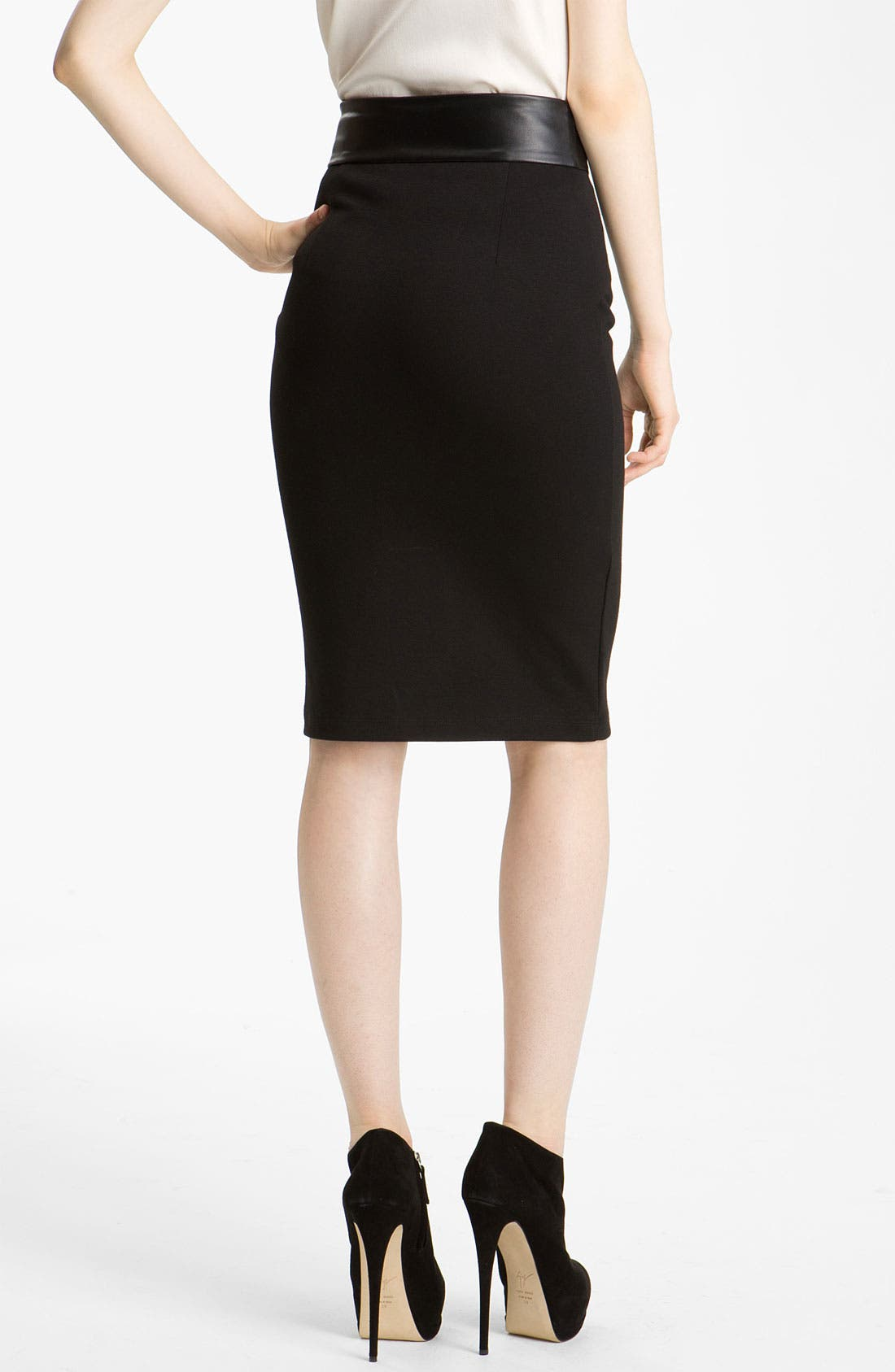Alternate Image 2  - Pierre Balmain Slim Pencil Skirt