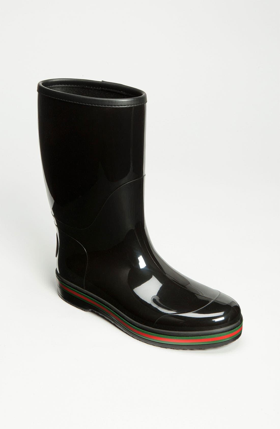 Alternate Image 1 Selected - Gucci 'Brest' Rain Boot