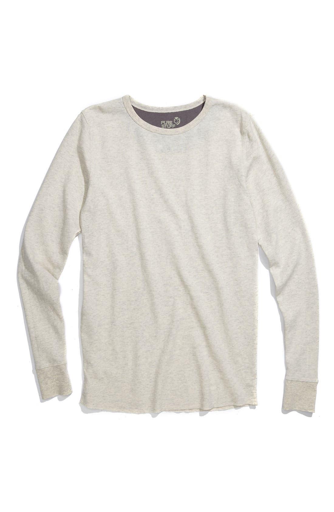 Main Image - Tucker + Tate 'Wheeler' Thermal T-Shirt (Toddler)