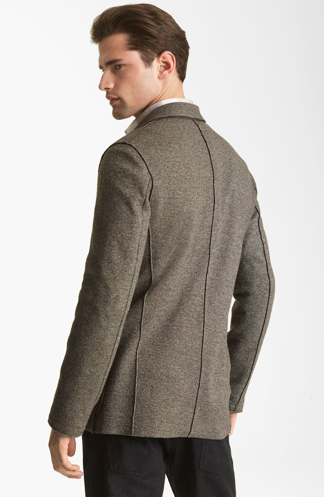 Alternate Image 2  - Armani Collezioni Wool Blend Sportcoat