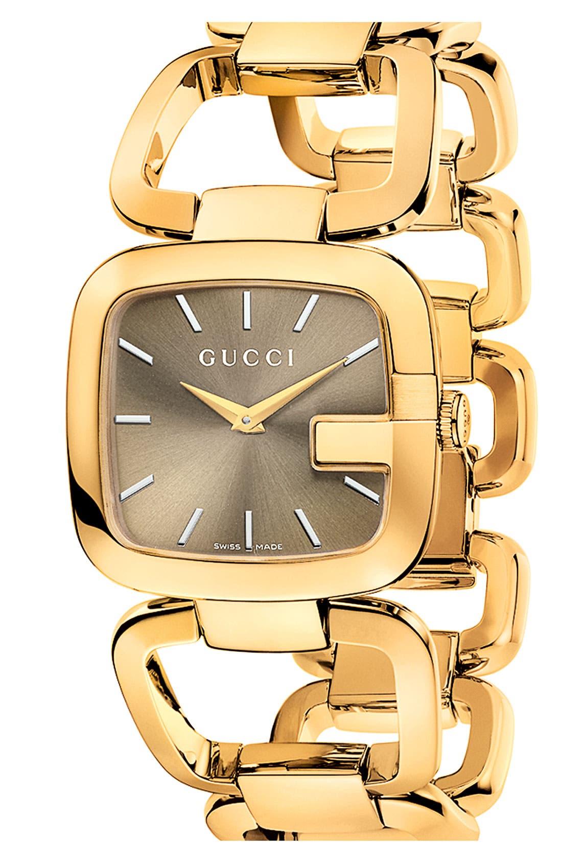 Main Image - Gucci 'G-Gucci' Bracelet Watch, 32mm