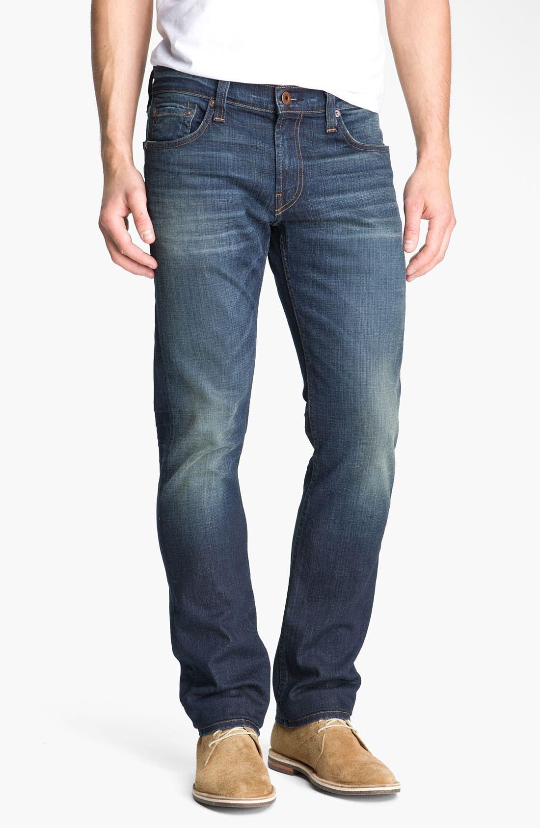 Alternate Image 2  - J Brand 'Kane' Slim Straight Leg Jeans (Javelin)