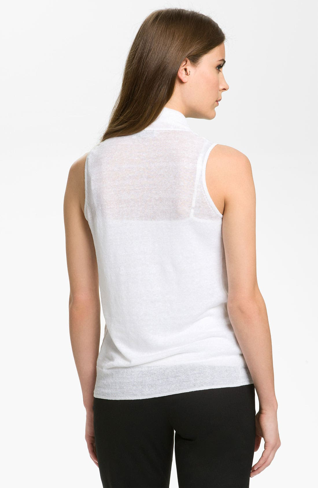 Alternate Image 2  - Nordstrom Collection 'Garza' Cowl Neck Top