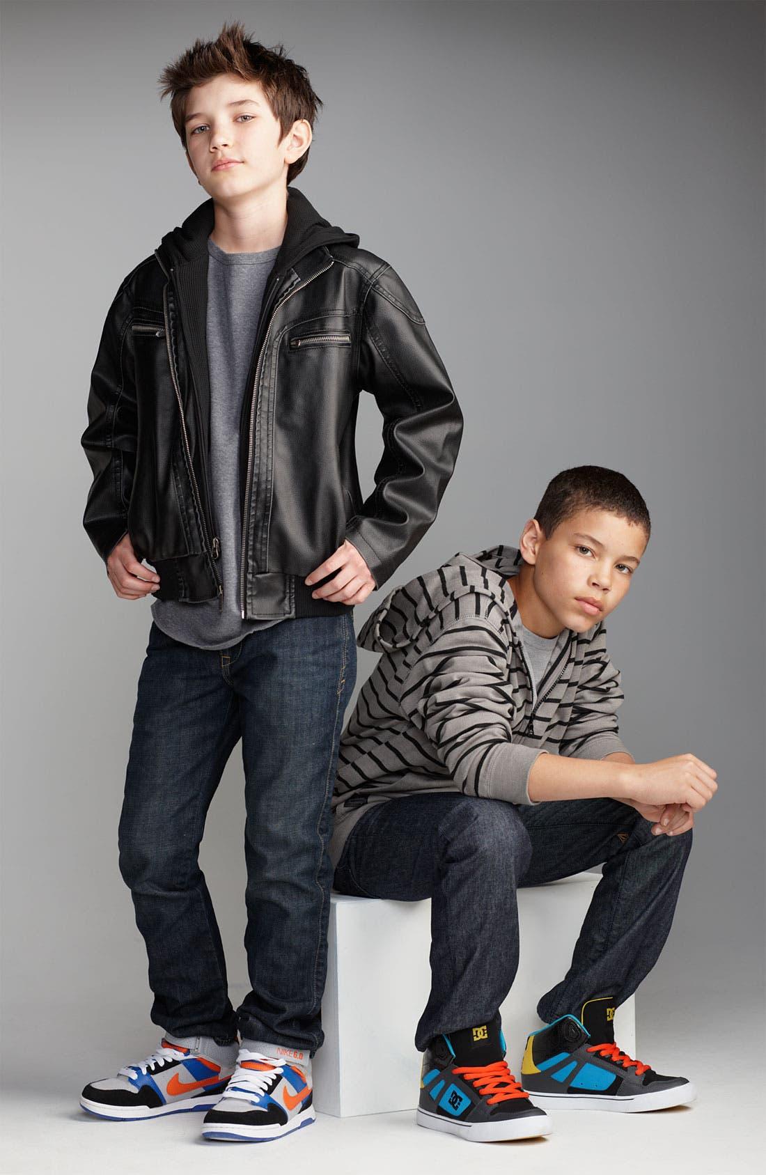 Alternate Image 5  - Nike 6.0 'Mogan Mid 2 Jr.' Sneaker (Little Kid & Big Kid)