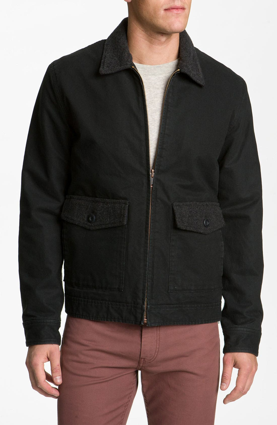 Alternate Image 1 Selected - MARC BY MARC JACOBS 'Maximus' Cotton Jacket