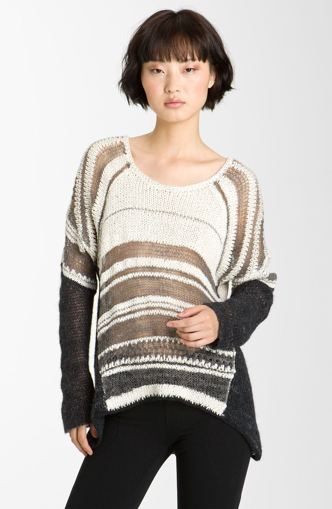 Main Image - Helmut Lang Melangé Pullover Sweater