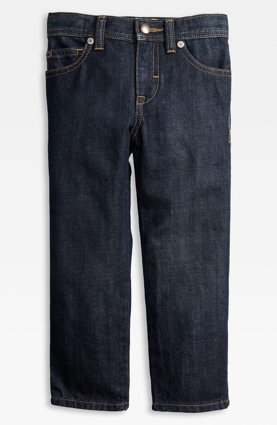 Alternate Image 2  - Pure Stuff 'Sneaker' Jeans (Toddler)