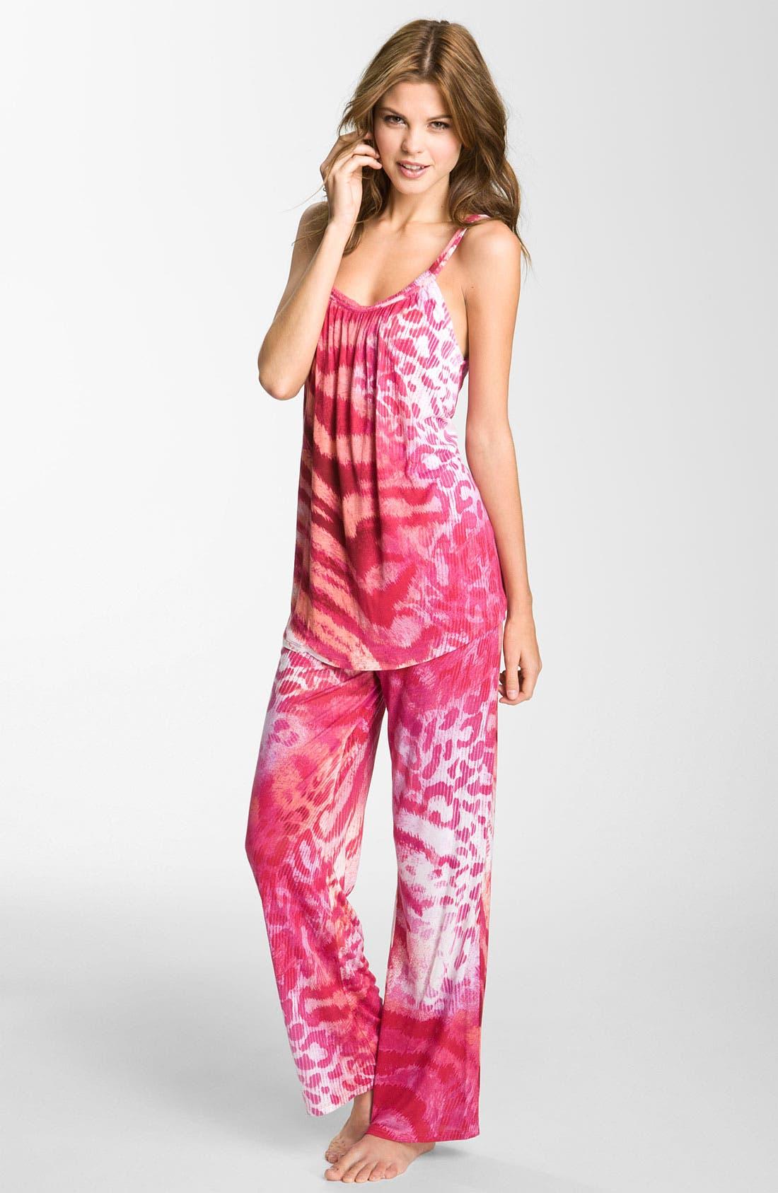 Alternate Image 1 Selected - Natori 'Dara' Camisole Pajamas