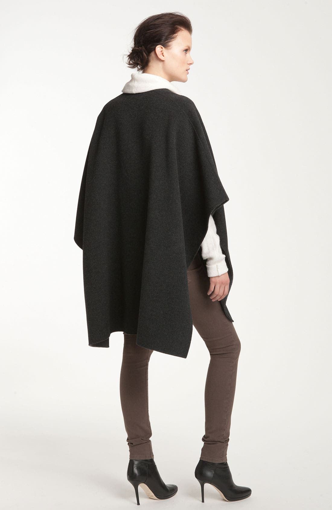 Alternate Image 2  - Vince Two Tone Wool Cape
