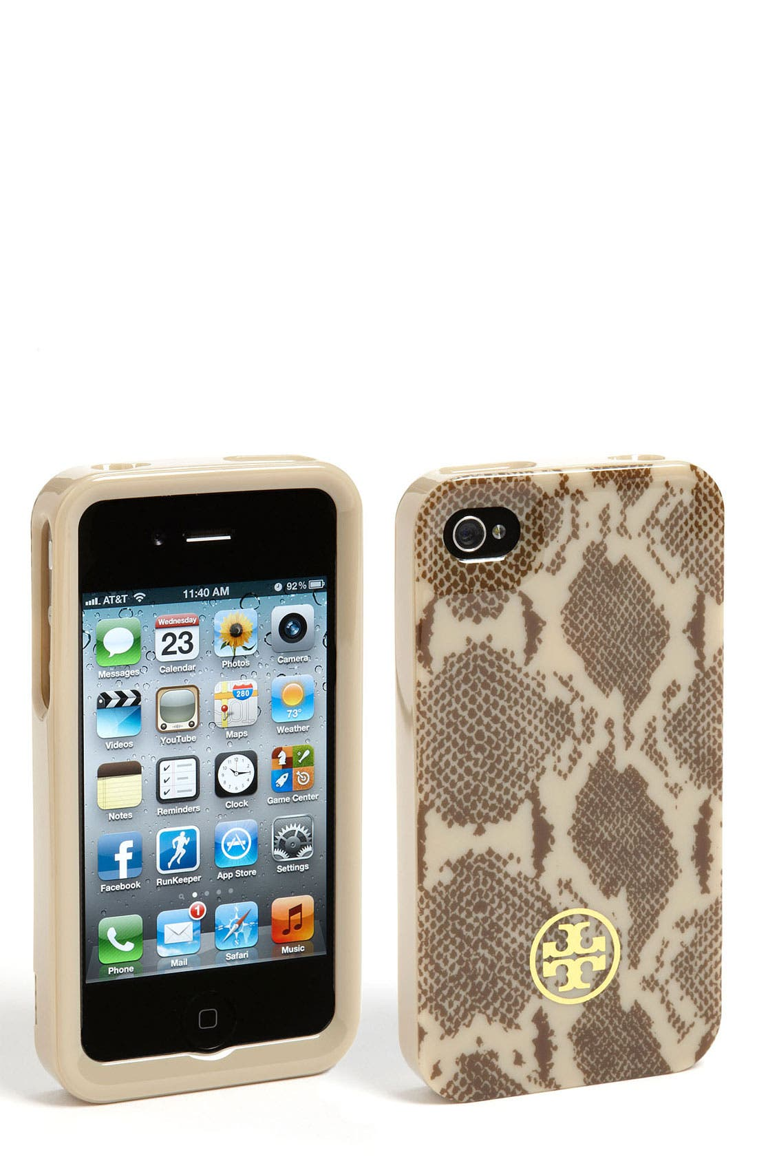 Alternate Image 1 Selected - Tory Burch iPhone 4 & 4S Case