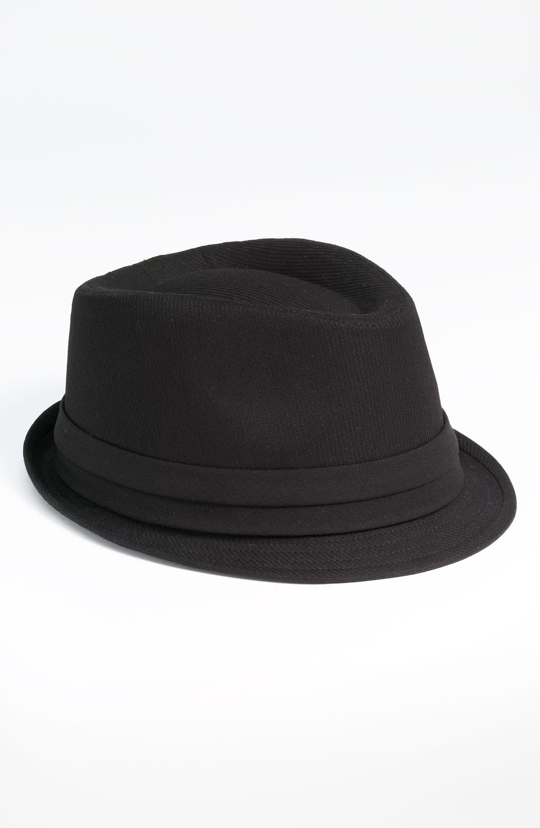 Main Image - Free Authority Tonal Stripe Fedora