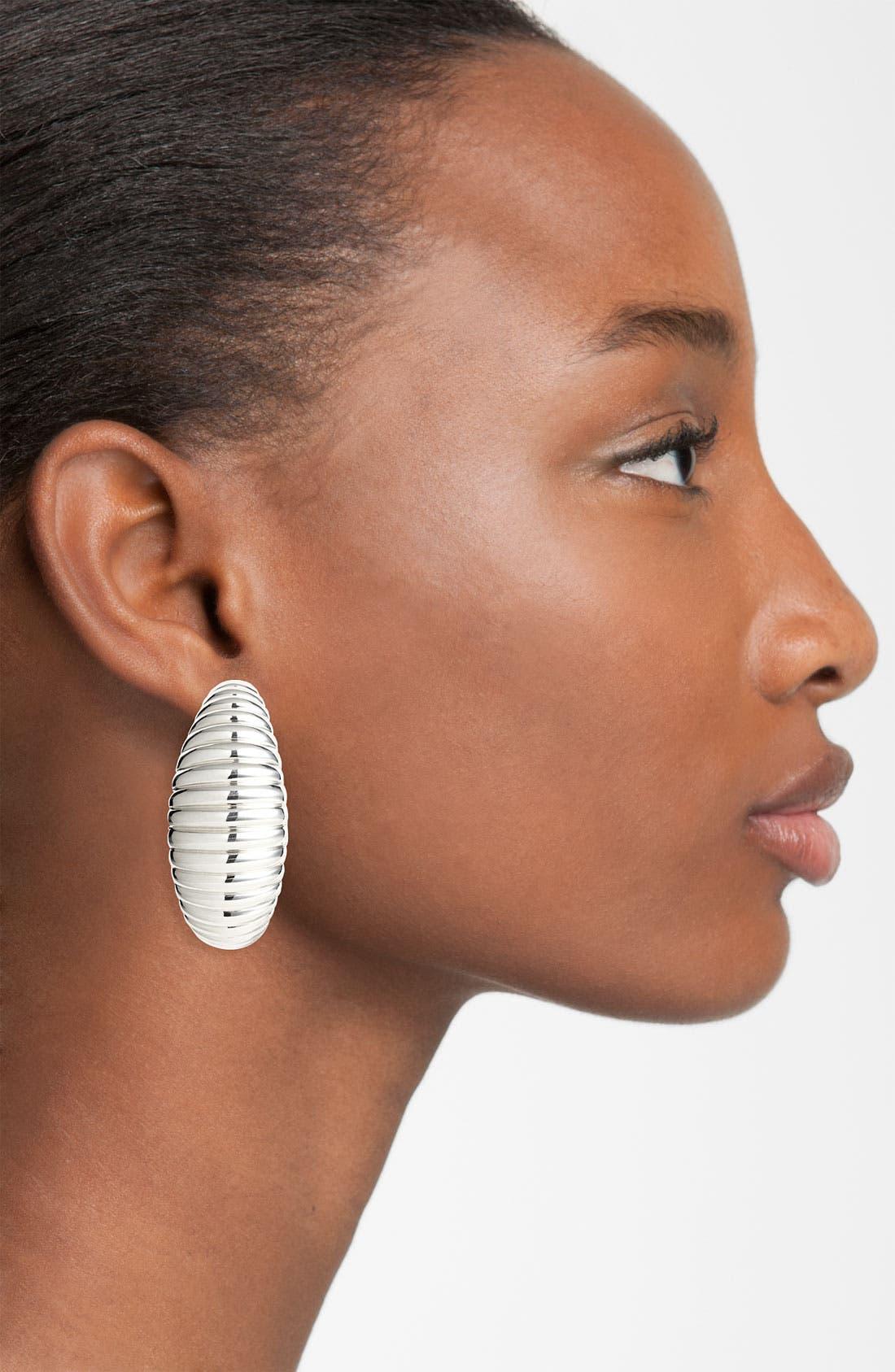 Alternate Image 2  - John Hardy 'Bedeg' Hoop Earrings