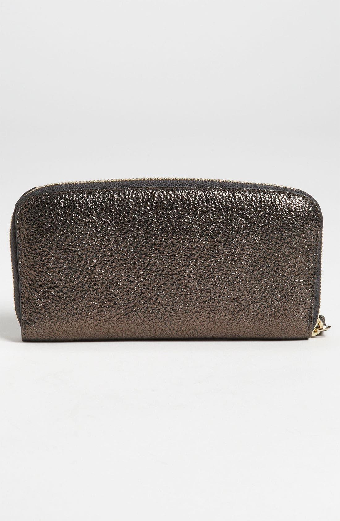 Alternate Image 4  - Jimmy Choo 'Rush' Glitter Leather Wallet