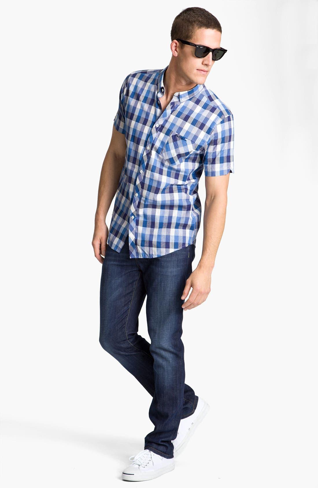 Alternate Image 5  - Joe's 'Brixton' Slim Straight Leg Jeans (Kieran)