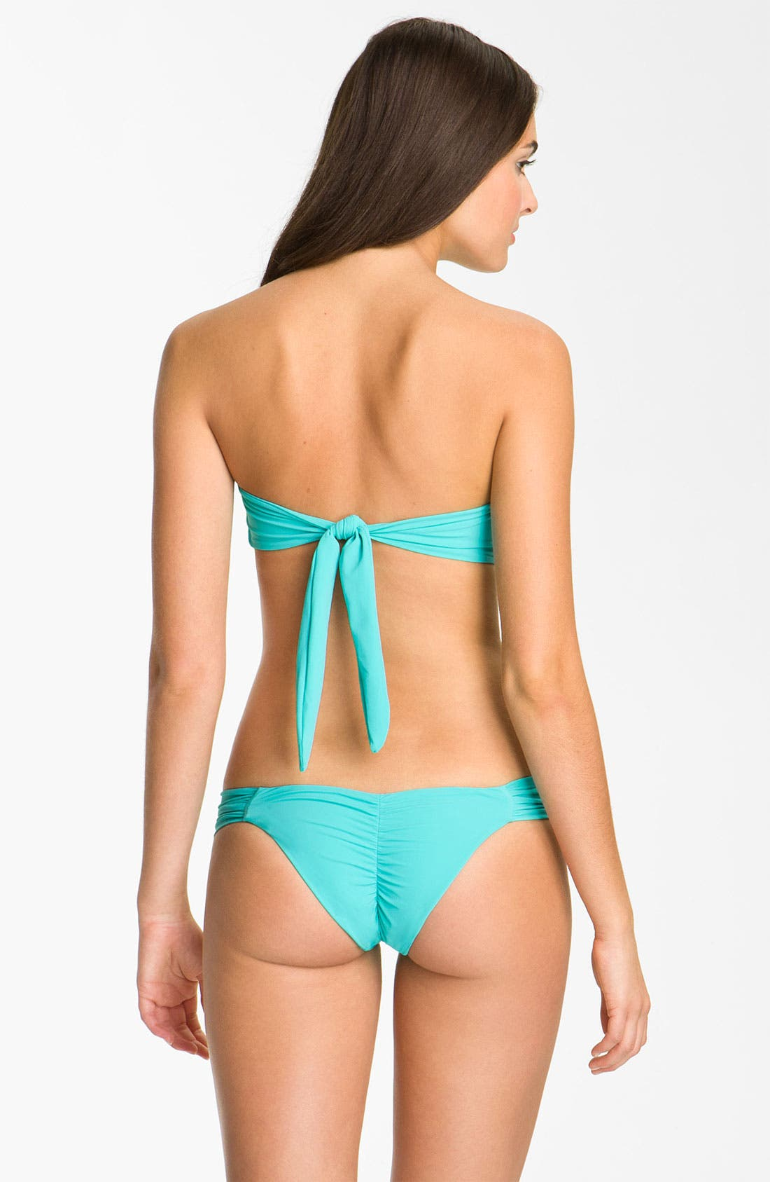 Alternate Image 5  - Beach Bunny 'Show & Tell' Embellished Bandeau Bikini Top
