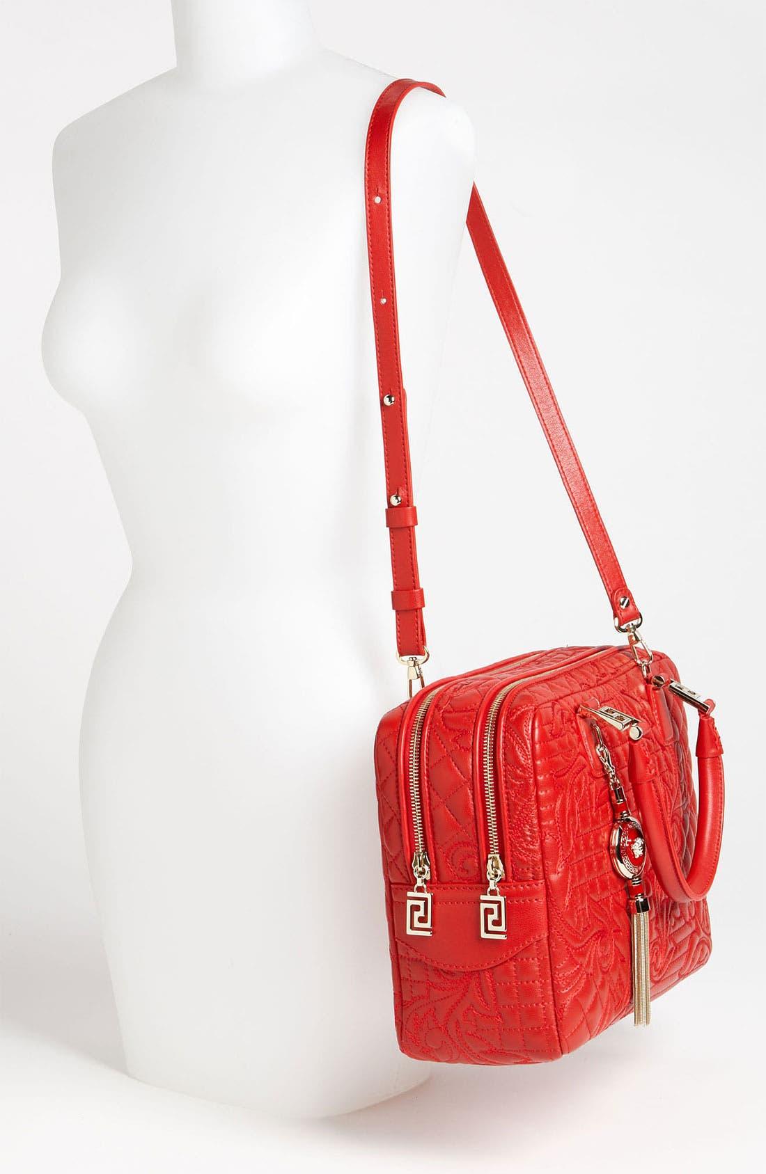 Alternate Image 2  - Versace 'Linea' Leather Satchel