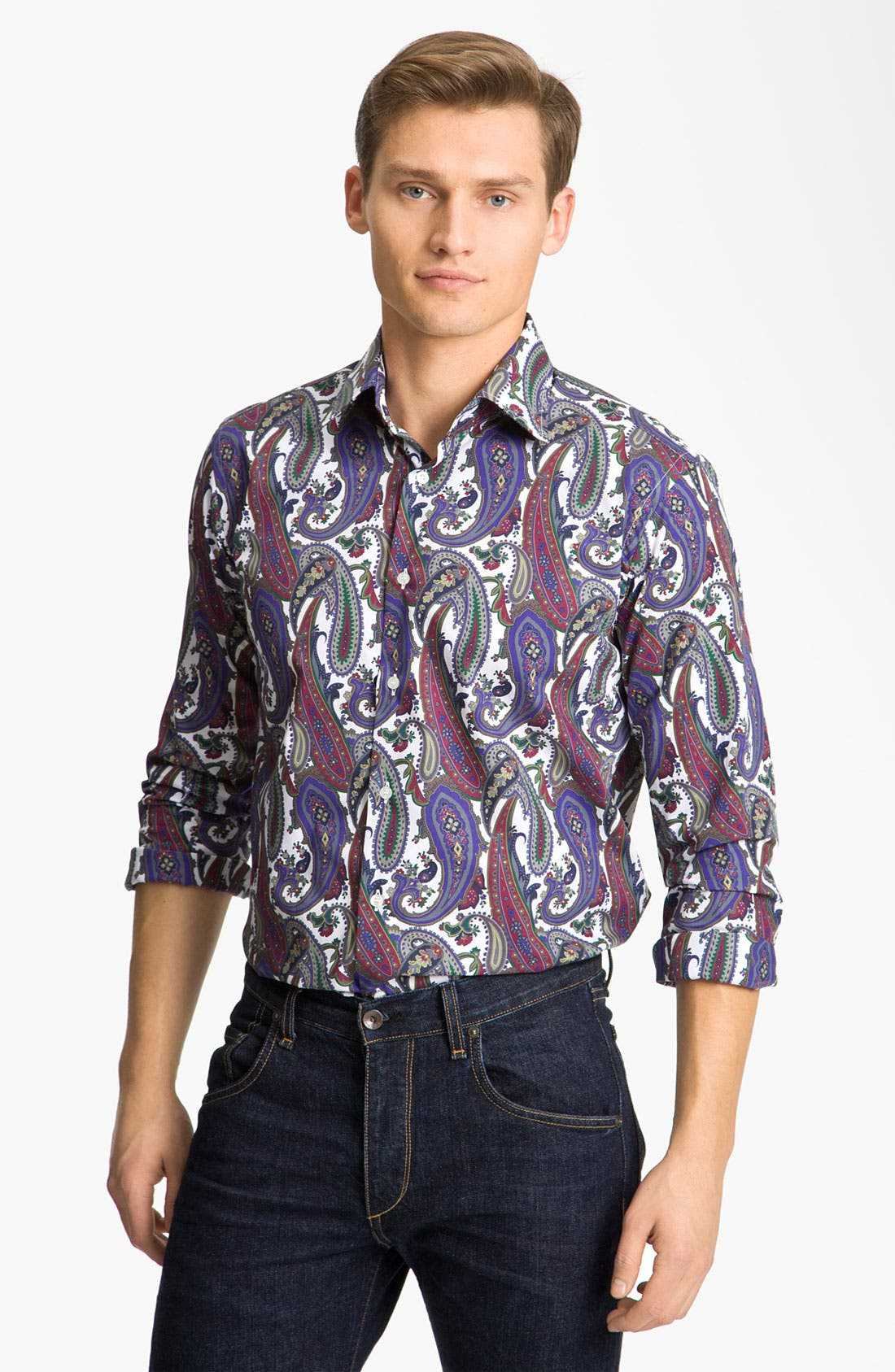 Main Image - Etro Paisley Shirt