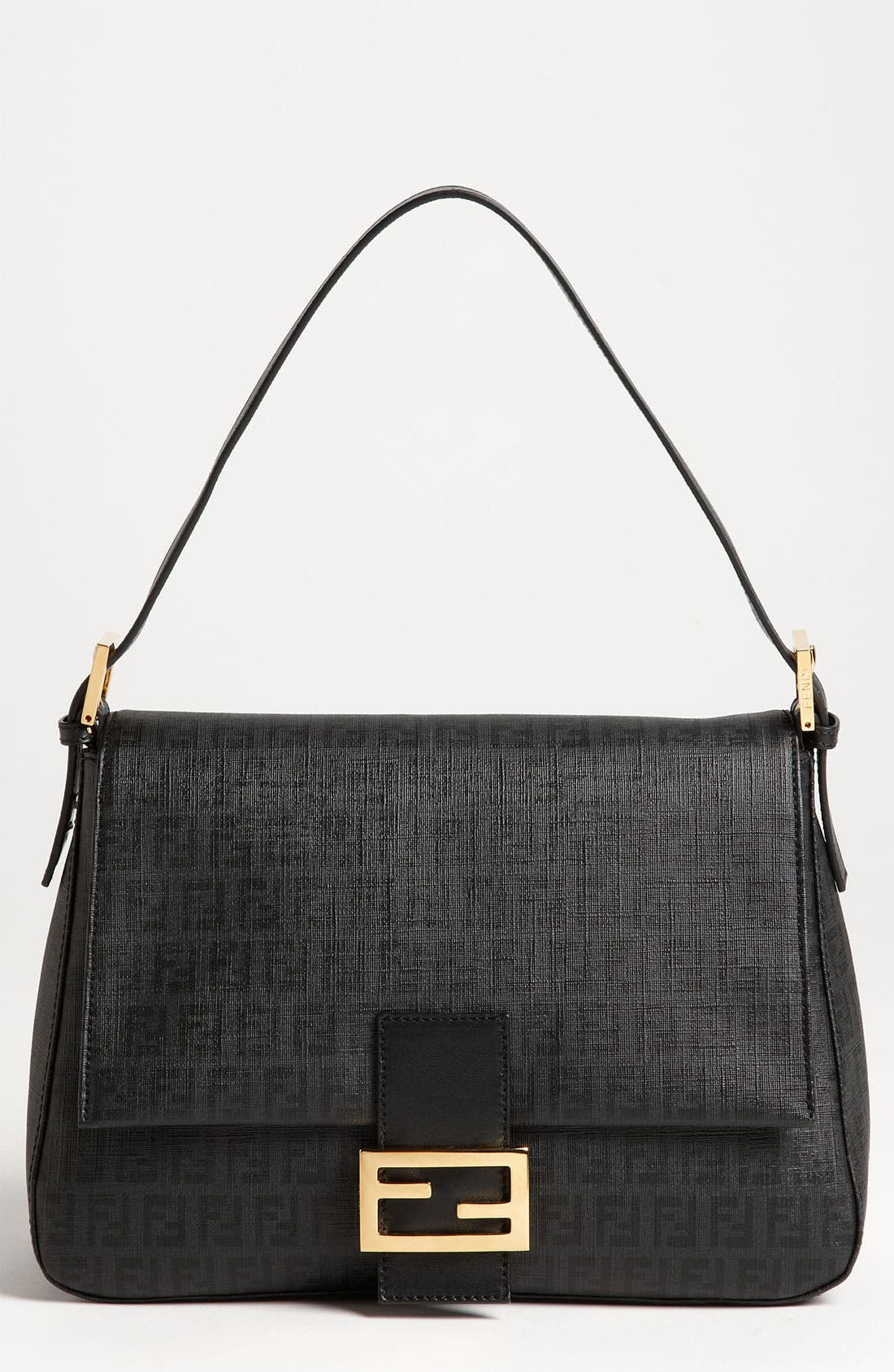 Alternate Image 1 Selected - Fendi 'Forever Big Mamma' Fabric Shoulder Bag