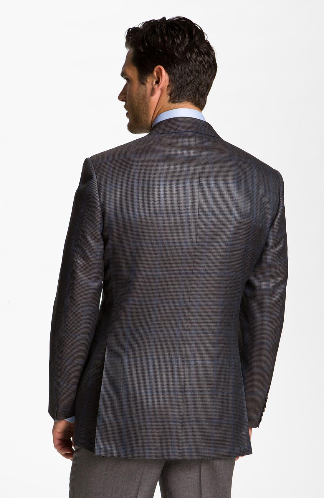 Alternate Image 2  - Canali Silk Blend Sportcoat