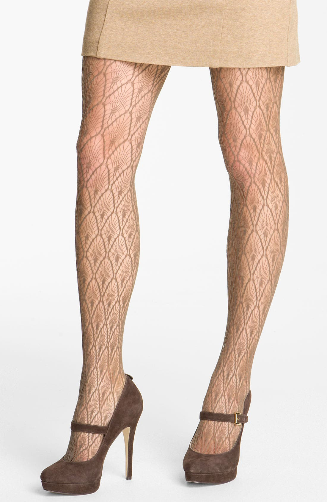 Alternate Image 1 Selected - Nordstrom 'Nouveau Feather' Tights