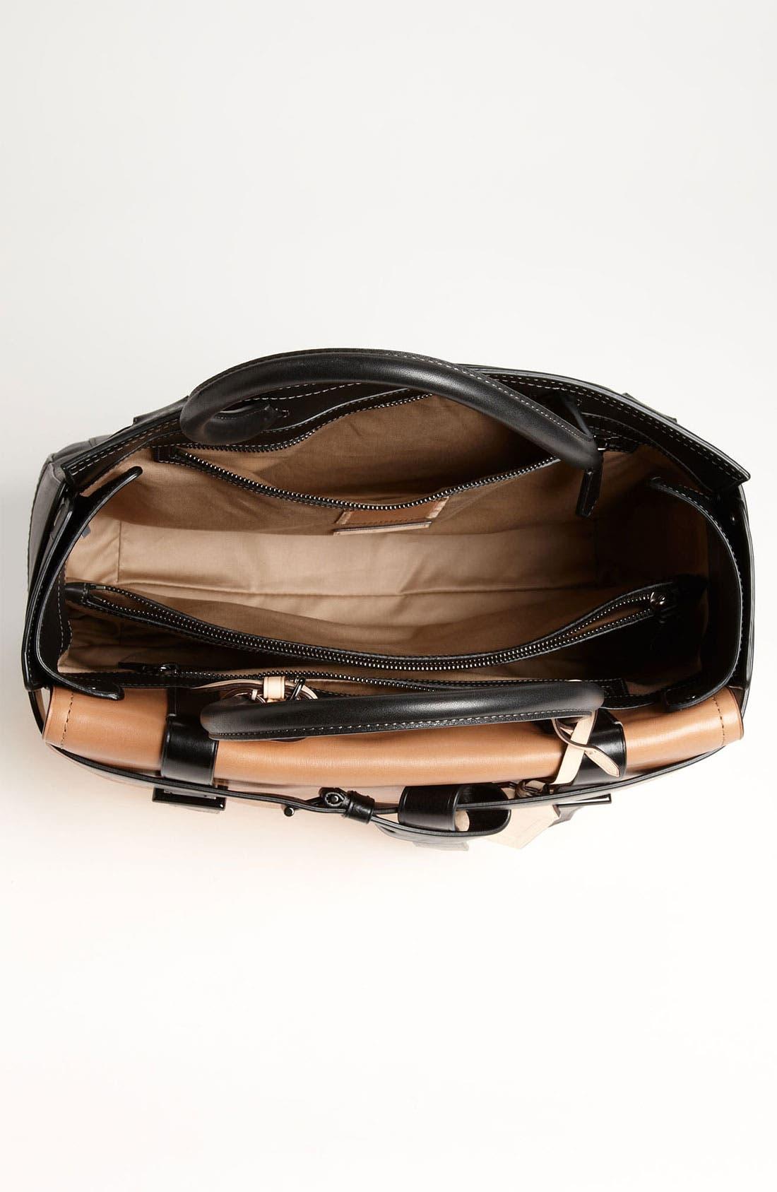 Alternate Image 3  - Reed Krakoff 'Boxer I' Tricolor Leather Satchel, Large