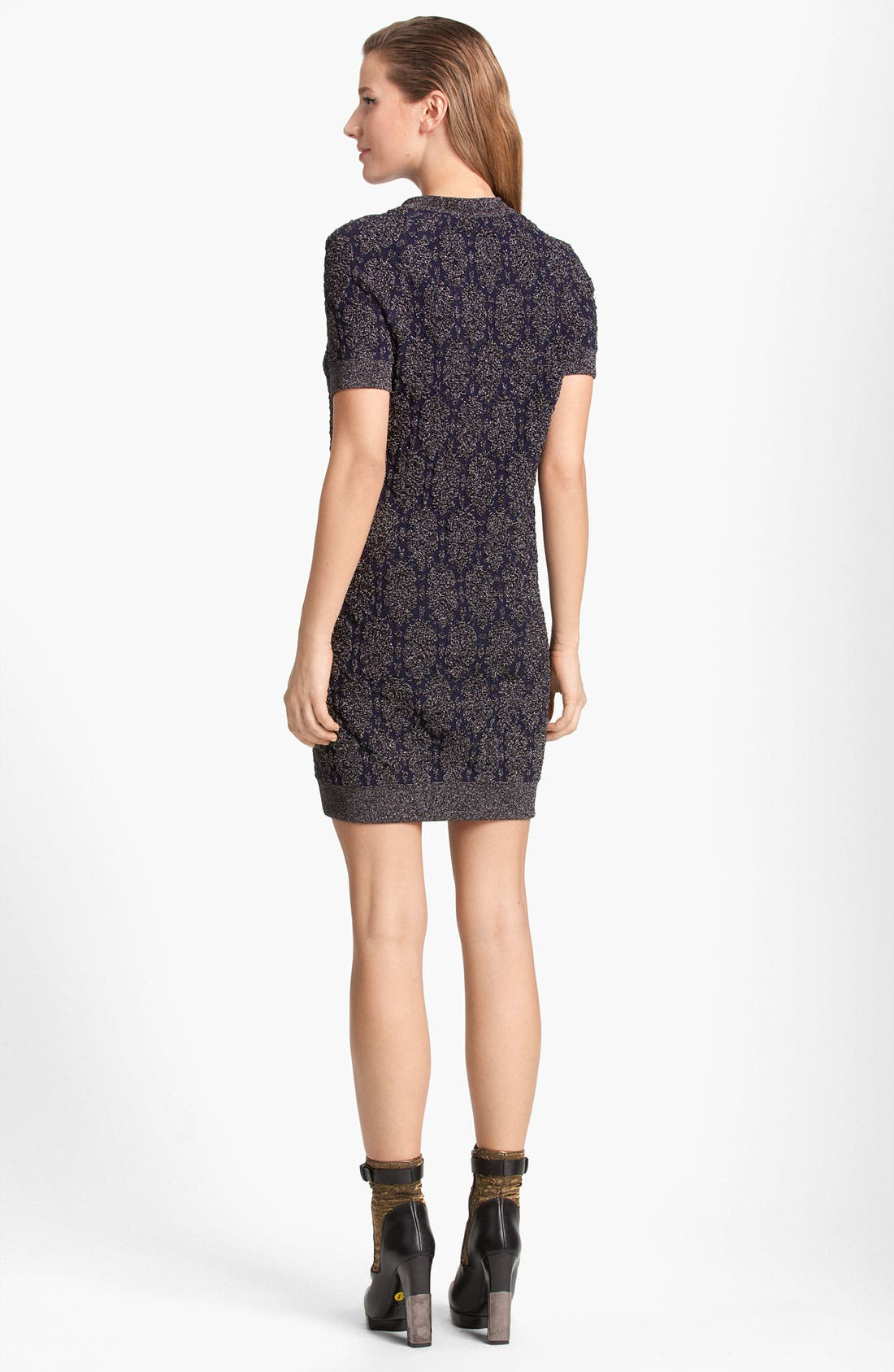 Alternate Image 2  - Lanvin Lamé Knit Dress
