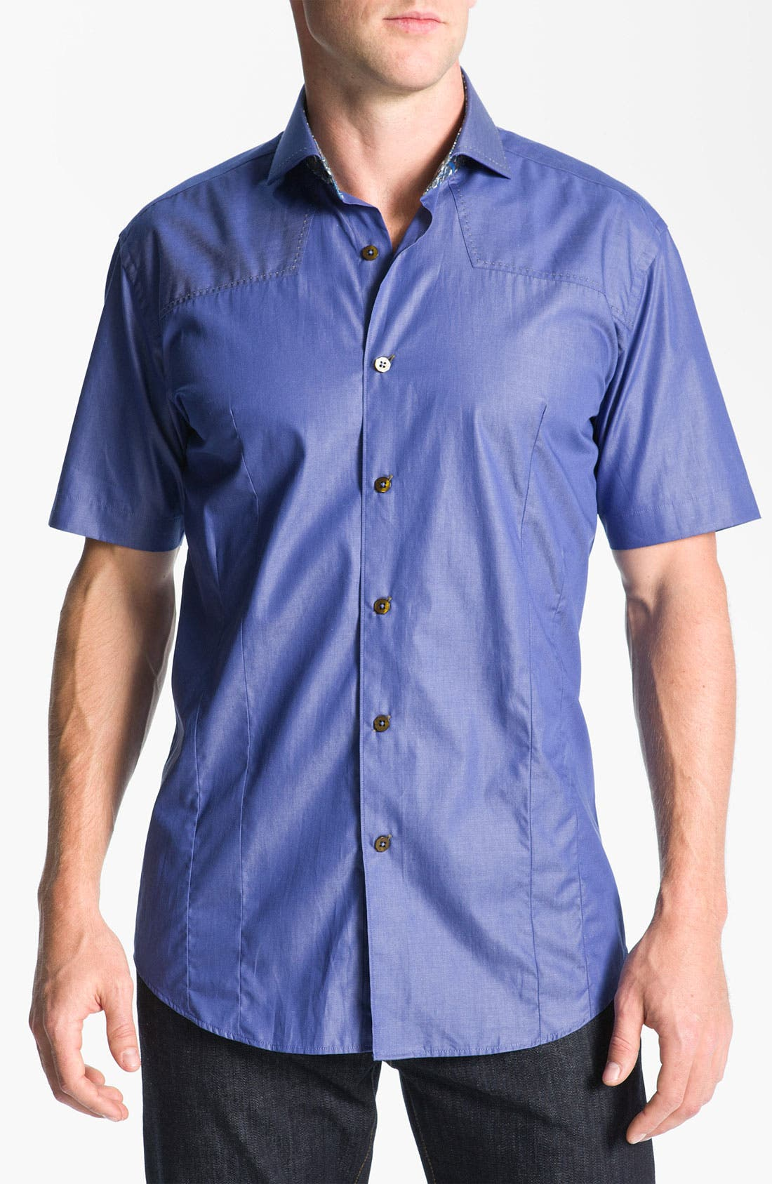 Alternate Image 1 Selected - Bogosse 'Mini Aramis' Sport Shirt
