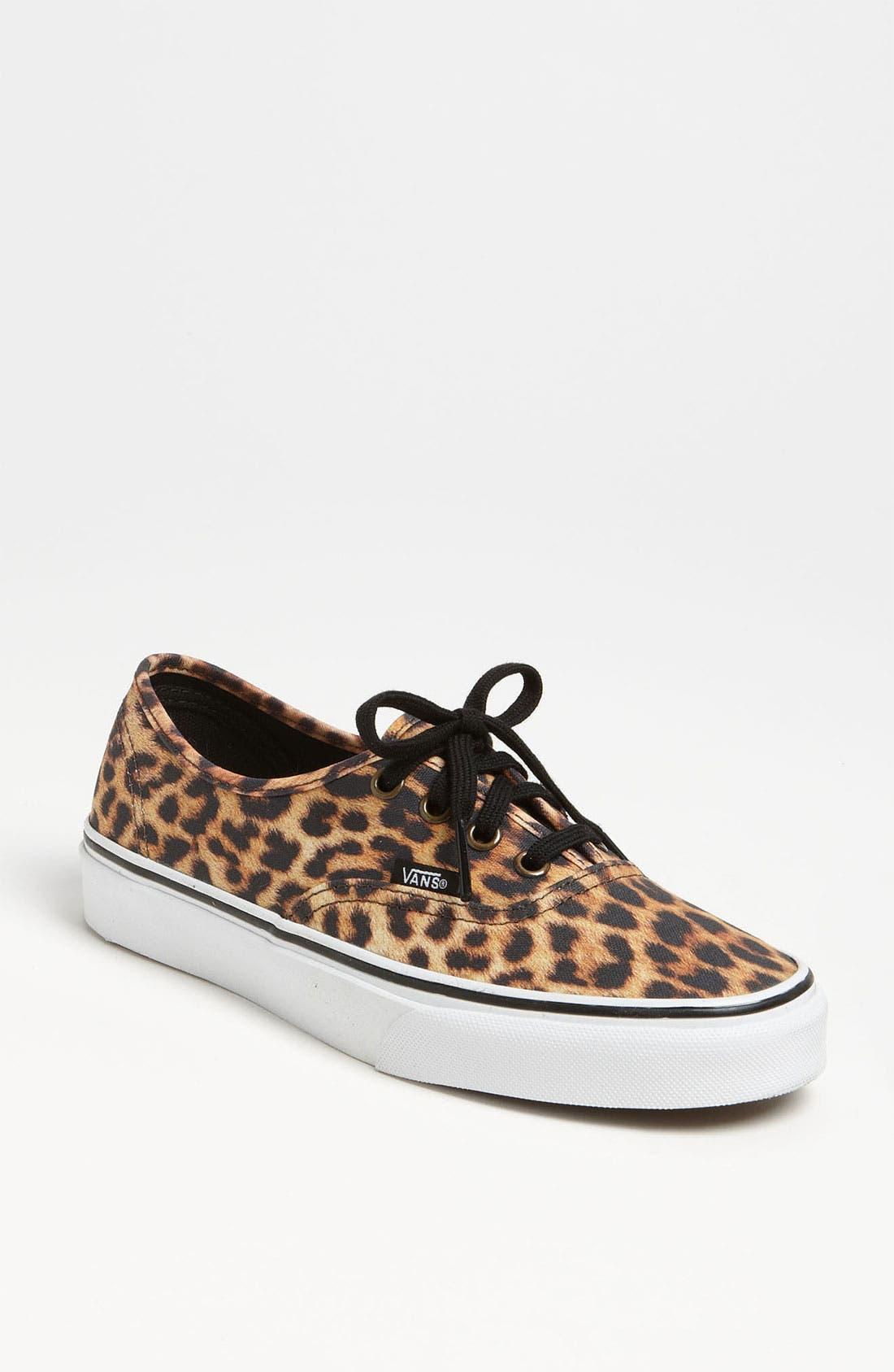 Main Image - Vans 'Authentic - Leopard' Sneaker (Women)
