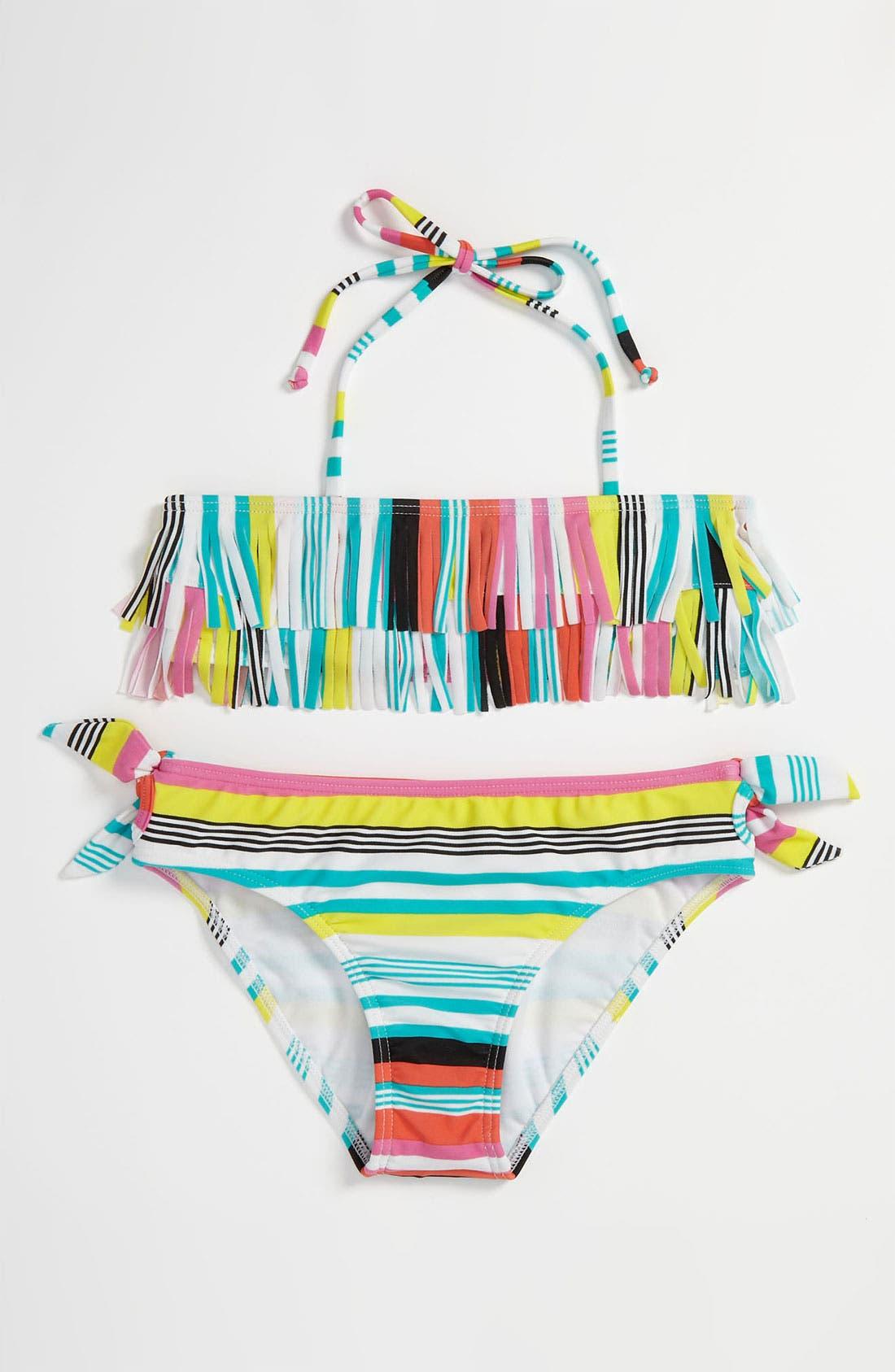 Main Image - Two Piece Swimsuit (Big Girls)