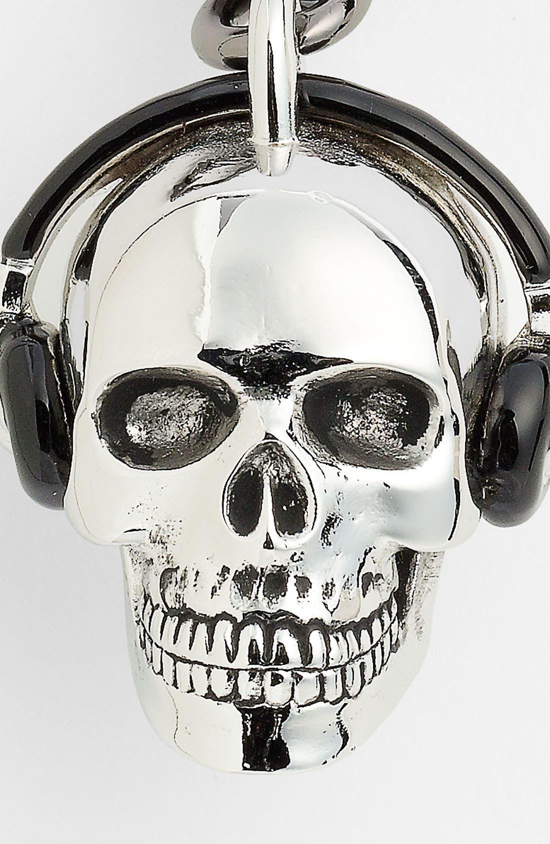 Alternate Image 2  - Paul Smith Accessories Skull Key Ring