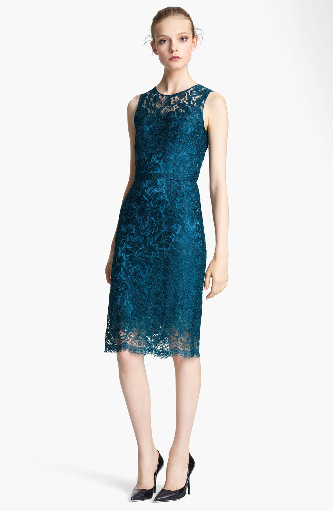 Alternate Image 1 Selected - Dolce&Gabbana Lace Pencil Dress