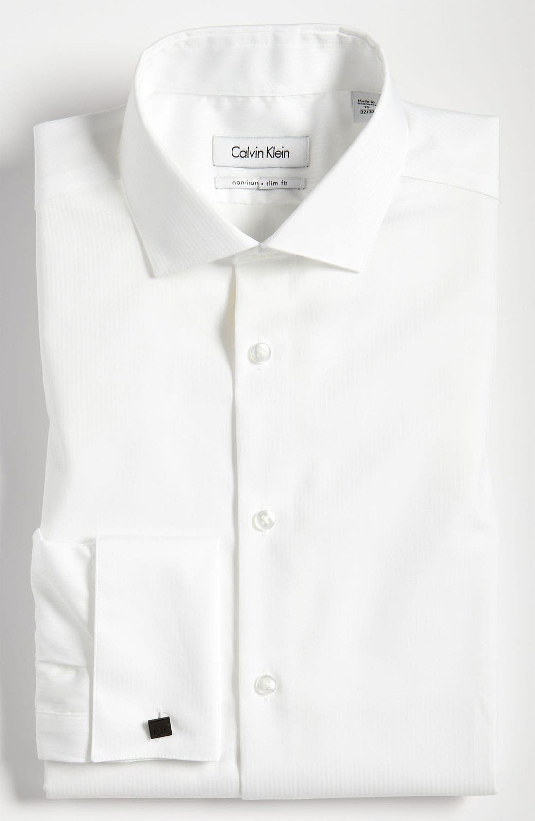 Alternate Image 1 Selected - Calvin Klein Slim Fit Non-Iron Dress Shirt