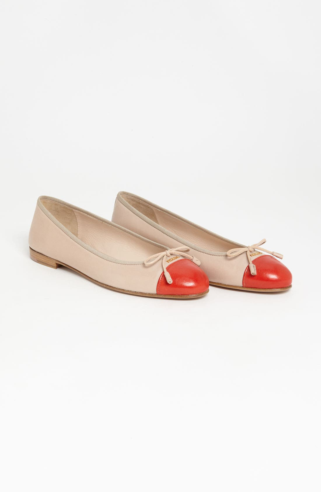 Alternate Image 4  - Prada Bow Ballerina Flat
